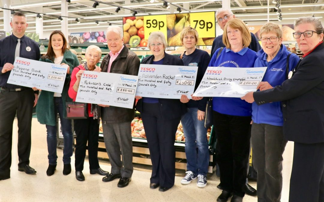 Community Champion of Tesco