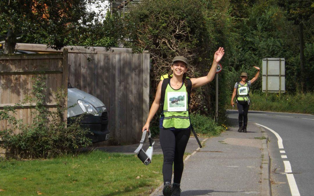 Team XR Charity Walk update